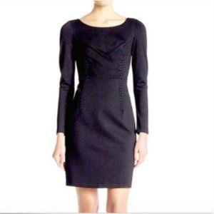 Kobi Halperin 'Presley' Stitched Dress BLACK Sz 8